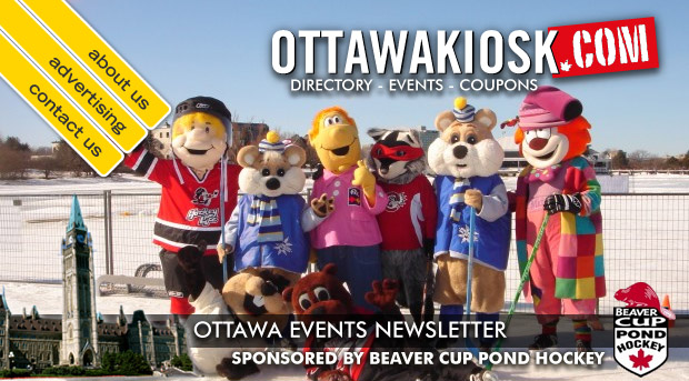 ottawa email newsletter contests annoucements and events